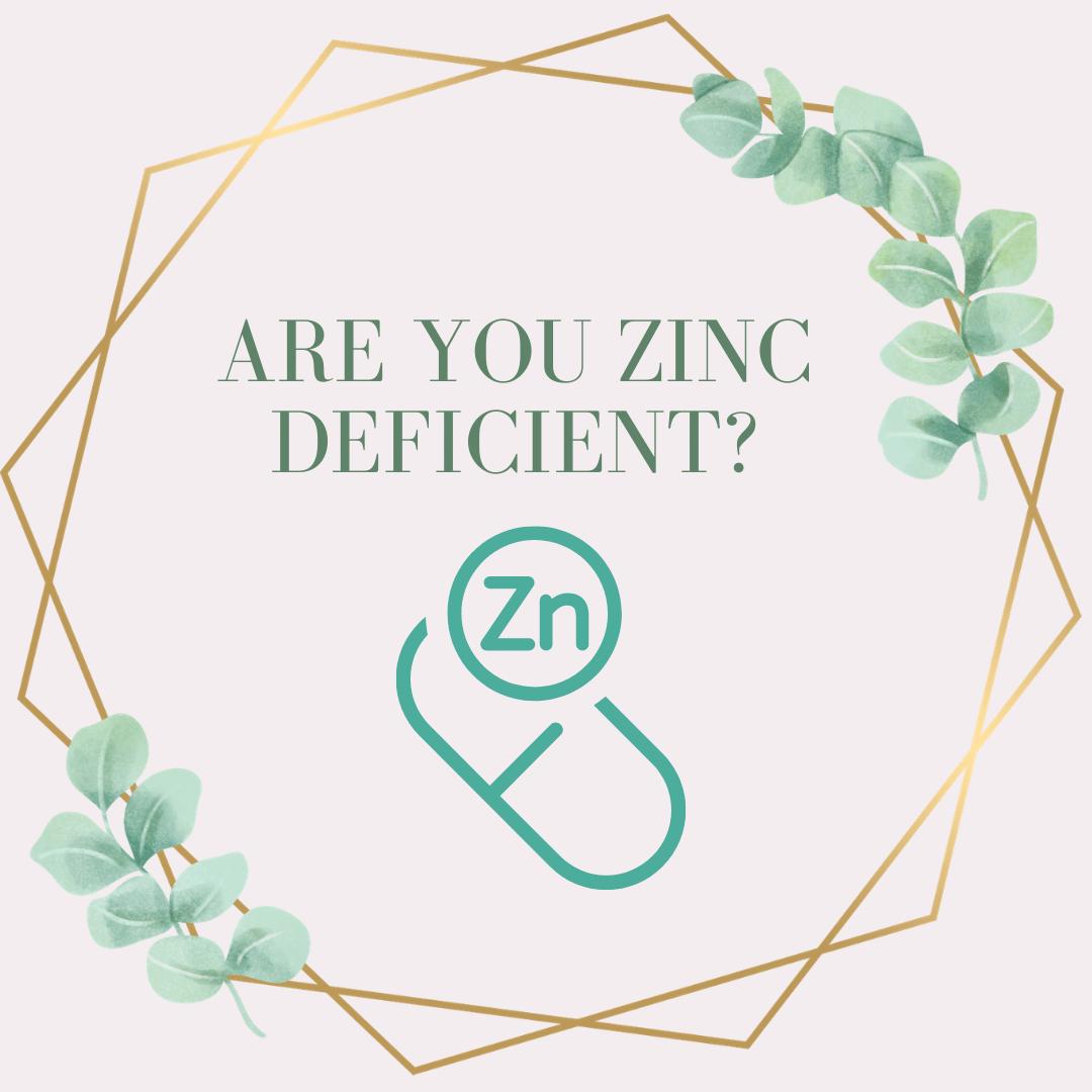 Blog about zinc deficiency